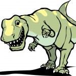 Постер, плакат: Happy Tyrannosaurus Rex