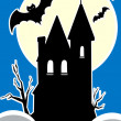 Haunted House — Stock Vector