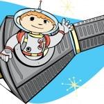 ������, ������: Mercury Capsule and Space Boy