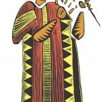 Постер, плакат: African artist