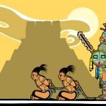 Mayan Sacrifices — Stock Vector