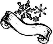 Snowflake Banner #1 — 图库矢量图片