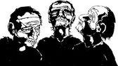 Los ciegos — Vector de stock