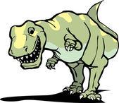 Happy Tyrannosaurus Rex — Stock Vector