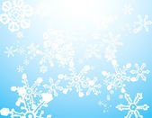 Snow Storm Background — Stock Vector