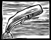 Sperm Whale — Stock Vector