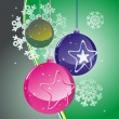 Royalty-Free Stock Vector Image: Christmas balls