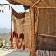 Foto Stock: Bedouin village