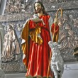 Statue of Jesus Christ. Sacred Heart. — Stock Photo