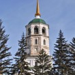 White russian church — Stock Photo