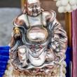 Figurine Cheerful Hotei. Chinese God of Wealth. — Stok fotoğraf
