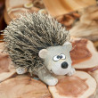 Cute Hedgehog - siberian souvenir - Stock Photo