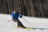 Skifahrer — Stockfoto
