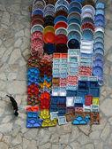 Bazaar plates — Stock Photo