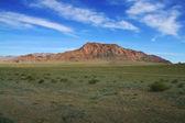 Piękna czerwona góra — Zdjęcie stockowe