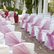 Wedding Aisle — Stock Photo