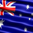 Flag of Australia — Stock Photo #2835492