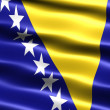 Royalty-Free Stock Photo: Flag of Bosnia Herzegovina