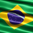 Flag of Brazil — Stock Photo #2835541