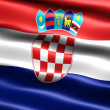 Flag of Croatia — Stock Photo #2835586