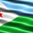 Постер, плакат: Flag of Djibouti