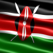Flag of Kenya — Stock Photo