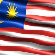Flag of Malaysia — Stock Photo #2836305