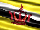 Flag of Brunei — Stock Photo
