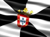 Flag of Ceuta — Stock Photo