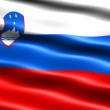 Flag of Slovenia - Stock Photo