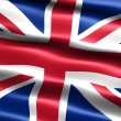 Flag of the United Kingdom — Stock Photo