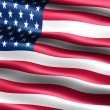 Foto de Stock  : Flag of the U.S.A.