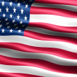 Stock Photo: Flag of the U.S.A.