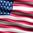 美国的旗子 — 图库照片