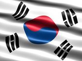 Flag of South Korea — Foto de Stock