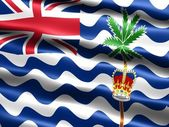 Flag, British Indian Ocean Territory — Stock Photo