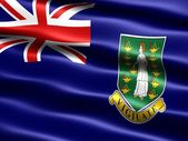 Flag of the British Virgin Islands — Stock Photo