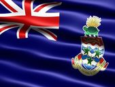 Flag of the Cayman Islands — Stock Photo