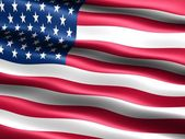 Flag of the U.S.A. — Stock Photo
