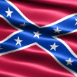2nd Confederate Navy Jack, 1863 to 1865 - Stock Photo