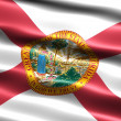 Flag of the state of Florida - Stock Photo