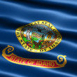 Flag of the state of Idaho — Stock Photo