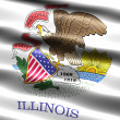 Flag of state of Illinois — Stock Photo #2853045