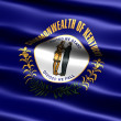 Flag of the state of Kentucky - Stock Photo