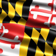 Flag of the state of Maryland — Stock Photo