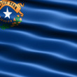 Foto Stock: Flag of the state of Nevada