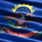 Kuzey dakota eyalet bayrağı — Stok fotoğraf