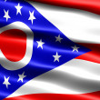 Flag of the state of Ohio — Stock Photo