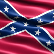 Stock Photo: Rebel flag