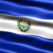 Flag of El Salvador — Stockfoto